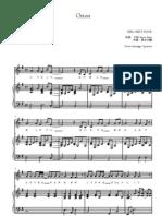 Girl Next Door - Orion Piano Score