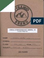 Chuka Ethnozoology (Birds) - IX