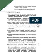 Ata da Reunião da OCUPAÇÃO REITORIA - 27-06-2013