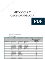 Geologia y Geomorfologia