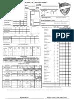 Judge dredd character sheet