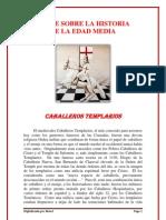 Breve Historia de La Edad Media Caballeros Templarios