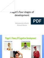 piagets four stages of development