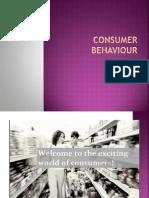 Unit v Consumer Behaviour