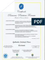 Certificado Primeros Talleres de Practica Forense Fcj. Doc