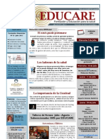 Newsletter Educare nº 13- julio