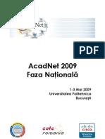 AcadNet 2009 Followup
