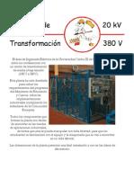 Centro de Transformacion 20kv - 380v