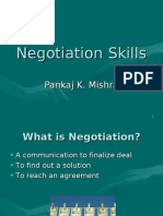 Negotiation PK