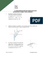 Actividad N° 02. Descomposición Rectangular de un vector en el Plano y en el Espacio_Física I_USMP_Ciclo 2013 - I