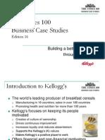 Kelloggs Edition 16 Powerpoint