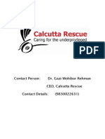 Calcutta Rescue Report NGO