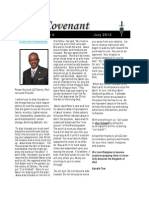 Covenant Newsletter-July 2013