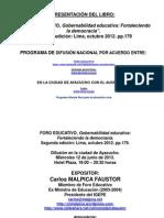 Exposicion Malpica - Ayacucho