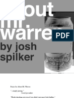 About Mr. Warren by Josh Spilker