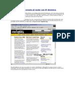 Acceso remoto al router con IP dinámica