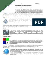 Reproductores y Navegadores Linux