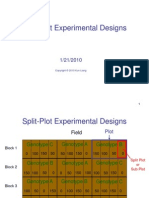 Chapter9b. Split Plot Experiment 10April2011