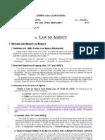 law on agency (business organization 1) ADMU