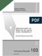 Artigo - Desvinculação Receitas da união DRU - TD103-FernandoAlvaresDias