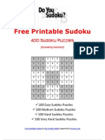 Free Print Ready Sudoku