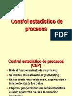 Control Estadistico de Procesos Ejemplo Capacidad