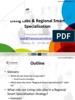 Living Labs and Regional Smart Specialisation