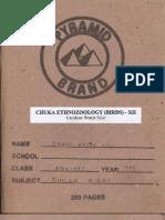 Chuka Ethnozoology (Birds) - XII