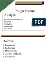 Fixture Analysis