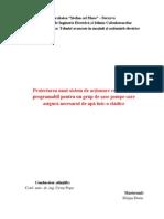 Proiectarea Schemei Electrice de Automatizare