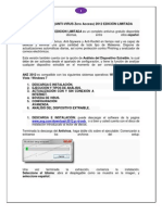 Manual de Anz Antivirus 2012