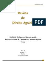 Revista de Direito Agrário - Nº 13 - Julho de 2000