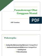Farmakoterapi Obat Gangguan Mental
