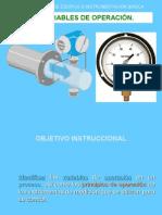 Variables de Operacion