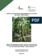 Agrocalidad Manual de Viveros