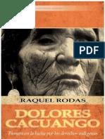 35781837 Raquel Rodas Dolores Cacuango Pionera en La Lucha Por Los Derechos Indigenas