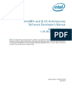 IA32 & IA64 Developers manual architecture