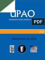 Inspeccion de Leche