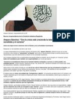 Amparo Sánchez_ _Con la crisis está creciendo la islamofobia, igual que la xenofobia y el racismo_ __ Otras confesiones __ Religión Digital