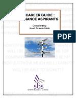 Career Guide for Finance Aspirants