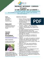 Devenez Un Expert de La Vente- CURSUS - Formation Commerciale