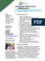 Gestion Du Temps d'Un Commercial - Formation Commerciale