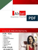 business model of Airtel