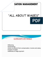 Wage policy in india