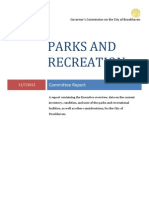 City of Brookhaven Parks and Recreation Governors Commission Report