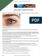 Consejos sencillos para cuidar la salud de tus ojos - Salud y bienestar.pdf