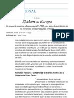 El islam en Europa _ Internacional _ EL PAÍS