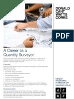 A Career as a Quantity Surveyor