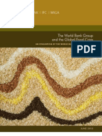 The World Bank Group and the Global Food Crisis  An Evaluation of the World Bank Group Response