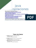 Java Recopilaciones